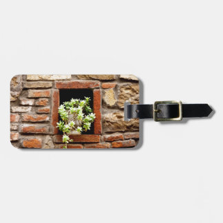 Plant in the Wall Luggage Tag