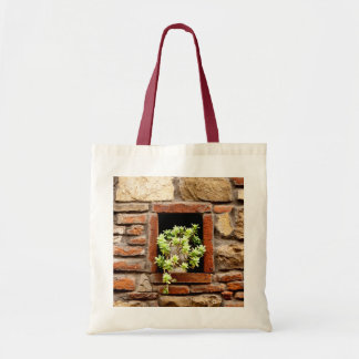 Plant in the Wall Tote Bag