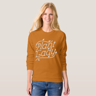 Plant Lady Long Sleeve Shirt - Gardener Women Gift
