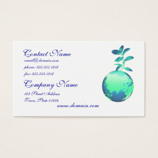 Plant Life Business Cards