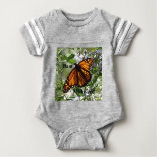 Plant Milkweed Baby Bodysuit