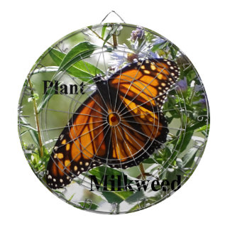 Plant Milkweed Dartboard