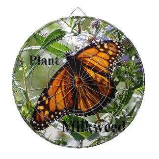 Plant Milkweed Dartboard With Darts