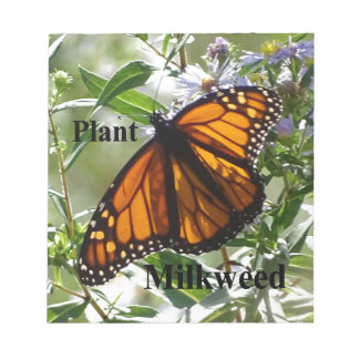 Plant Milkweed Notepad