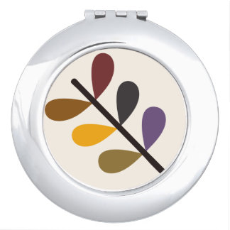 Plant Natures Art Compact Mirror
