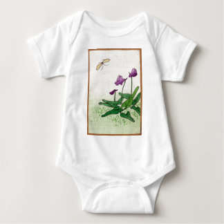 Plant of The Water Lily Family - anon - 1900 - woo Baby Bodysuit