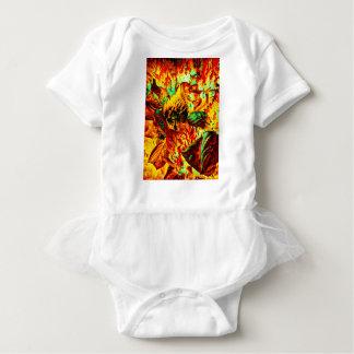 plant on fire baby bodysuit