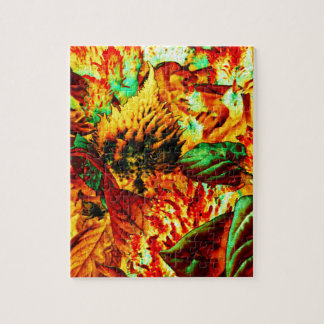 plant on fire jigsaw puzzle