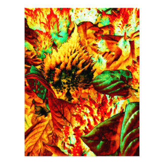 plant on fire letterhead