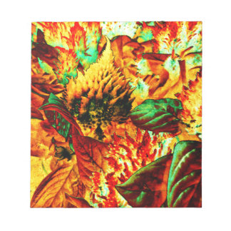 plant on fire notepad