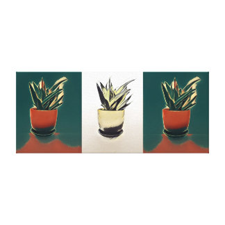 Plant Painting Canvas Print