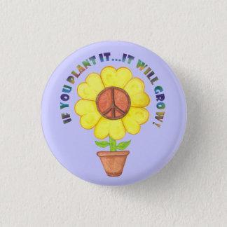 Plant Peace Button