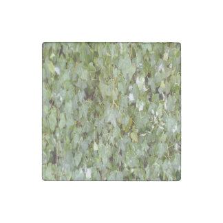Plant Photo Stone Magnet