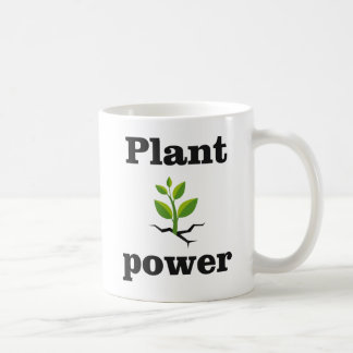 Plant power coffee mug