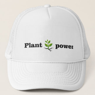Plant power trucker hat