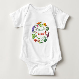 Plant-Powered Designs Baby Bodysuit