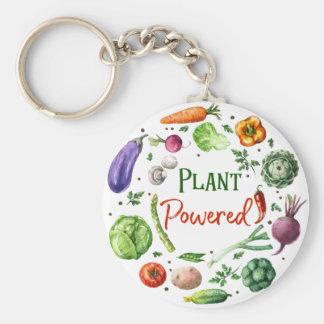 Plant-Powered Designs Basic Round Button Keychain