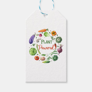 Plant-Powered Designs Gift Tags
