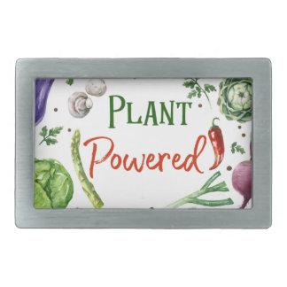 Plant-Powered Designs Rectangular Belt Buckles