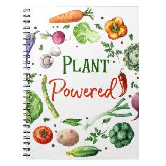 Plant-Powered Designs Spiral Notebook
