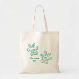 Plant Powered Paws Tote Bag