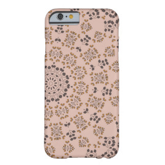 Plant round pink pattern barely there iPhone 6 case