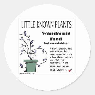 Plant Series #22 Classic Round Sticker