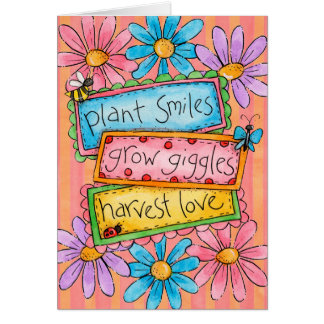 Plant Smiles Card