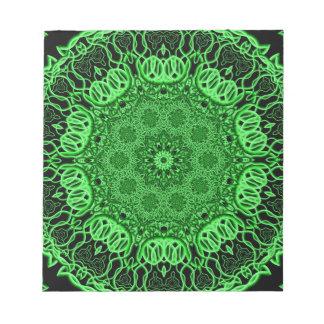 Plant Structures Mandala Notepad