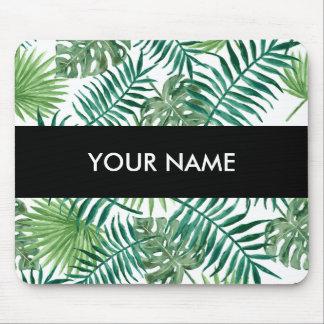 Plant Tropical Botanical Palm Leaf Mouse Pad