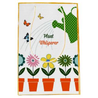 Plant Whisperer - How Does Your Garden Grow? Medium Gift Bag