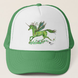 Plant Winged Unicorn Pegasus Pegacorn Horse Pony Trucker Hat