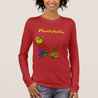 Plantaholic Customizable Gardening Saying Tee