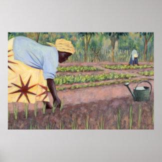 Plantation des oignons 2005 poster
