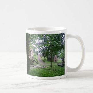 Plantation house coffee mug