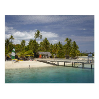 Plantation Island Resort, Malolo Lailai Island 3 Postcard