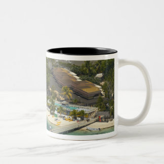 Plantation Island Resort, Malolo Lailai Island Two-Tone Coffee Mug