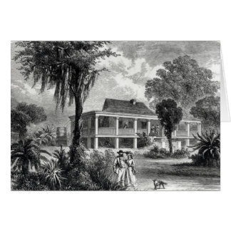 Planter's House on the Mississippi Card