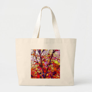 Planting Cherry Trees Large Tote Bag