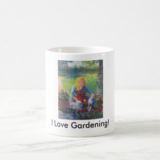 Planting Flowers Coffee Mug