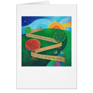 Planting Torah Note Card