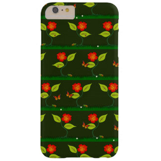 Plants and flowers barely there iPhone 6 plus case