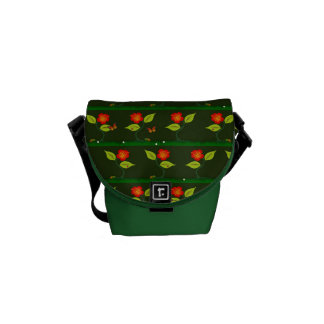 Plants and flowers commuter bag