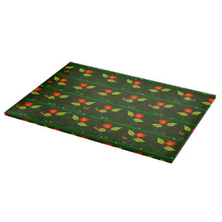 Plants and flowers cutting board