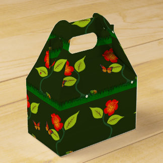 Plants and flowers favor box