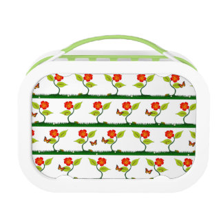 Plants and flowers lunch box