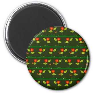 Plants and flowers magnet