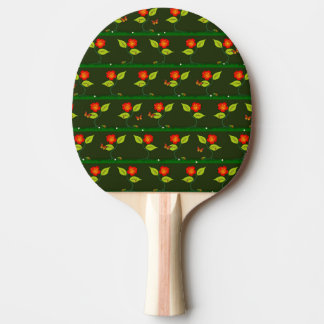 Plants and flowers ping pong paddle