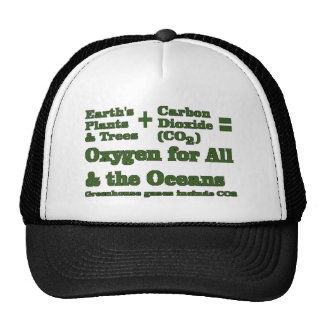Plants and Oxygen Environmental Truth Trucker Hat