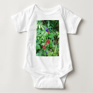 Plants at Pioneer Falls Butte Alaska Baby Bodysuit